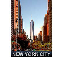 New York City freedom tower Photographic Print