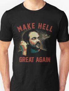"Mark Sheppard ""Make Hell Great Again""  Unisex T-Shirt"