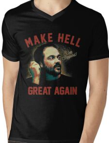 "Mark Sheppard ""Make Hell Great Again""  Mens V-Neck T-Shirt"