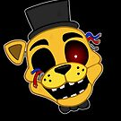 FNAF Golden Freddy by Sciggles