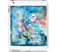 Flying girl iPad Case/Skin