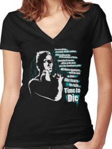 I've seen things you people wouldn't believe... Women's Fitted V-Neck T-Shirt