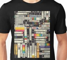 80´S VHS TAPES Unisex T-Shirt