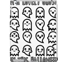LOVELY GHOST, HALLOWEEN iPad Case/Skin