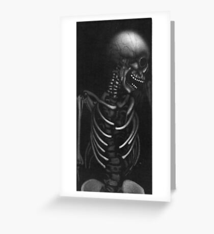 THE LAST LAUGH Greeting Card