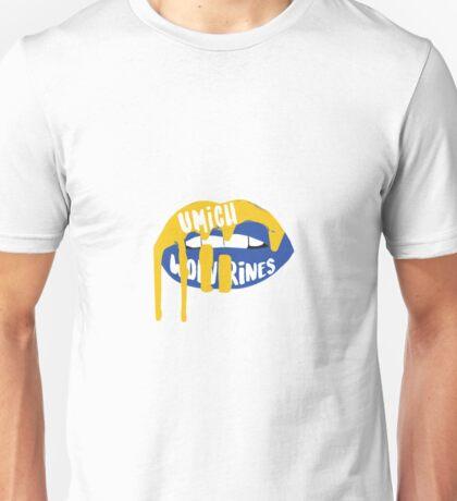 University of Michigan Lips Unisex T-Shirt