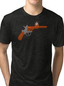 Duck Hunt gun Tri-blend T-Shirt