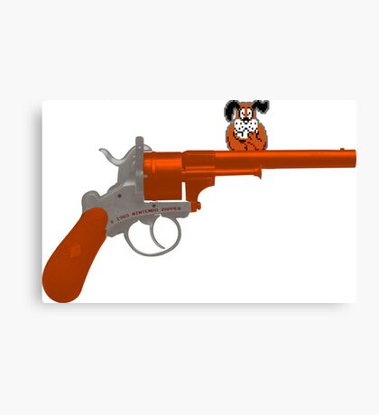 Duck Hunt gun Canvas Print