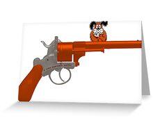 Duck Hunt gun Greeting Card