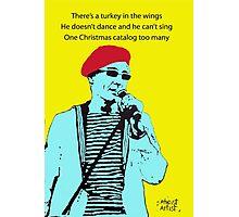 Captain Sensible's Christmas Photographic Print