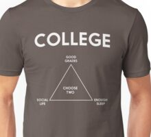 College Choices. Choose Two Unisex T-Shirt