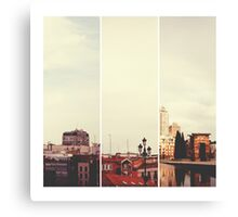 Above Madrid Canvas Print