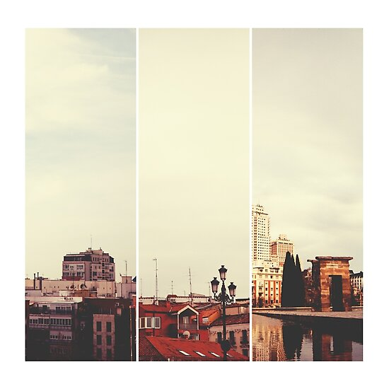 Above Madrid by Delphine Comte