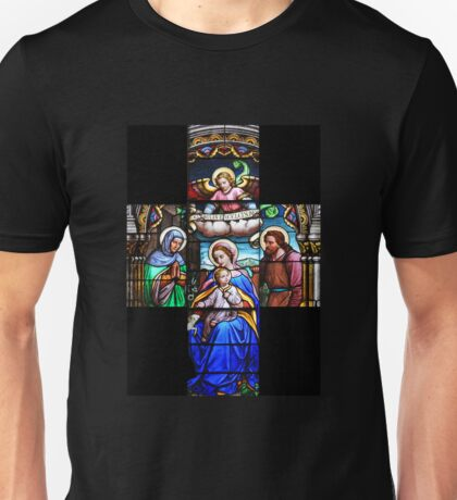 Nativity Cross Unisex T-Shirt
