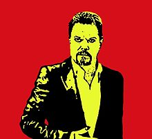 Eddie Izzard by DJVYEATES