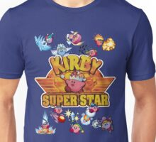 Kirby Superstar Retro Unisex T-Shirt