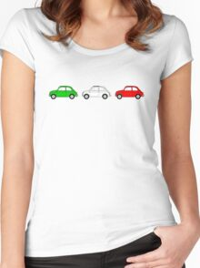 Fiat 500 Women's Fitted Scoop T-Shirt