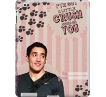 My Teenwolfed Valentine [I've got a little crush going on you] iPad Case/Skin