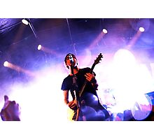 All Time Low - Alex Gaskarth Photographic Print