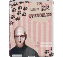 My Teenwolfed Valentine[You Leave Me Speechless] iPad Case/Skin