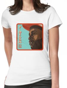 J. Dilla Womens Fitted T-Shirt