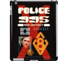 REP-DETECT Personal ID - ADD YOUR OWN PHOTO iPad Case/Skin