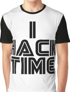 Hacking Time Graphic T-Shirt