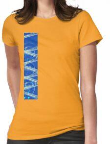 Blue sapphire light Womens Fitted T-Shirt