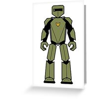 Vectorbot 014 Greeting Card