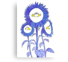 Look Into My EyeFlowers Canvas Print