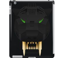 Saber Tiger - Schwarz Ver. iPad Case/Skin