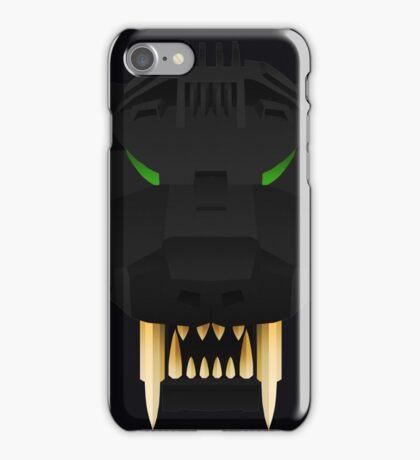 Saber Tiger - Schwarz Ver. iPhone Case/Skin