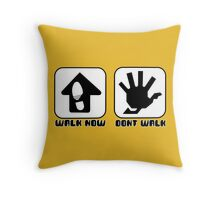 Walk Now... Throw Pillow