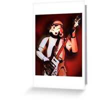 Riff Trooper Greeting Card