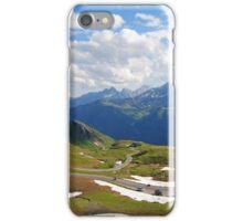 Grossglockner road in Austria iPhone Case/Skin