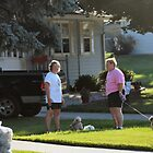 Stop chatting and get on with walkies Ma! by Keala