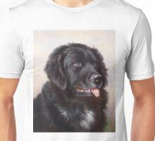 Newfoundland Dog Portrait Unisex T-Shirt
