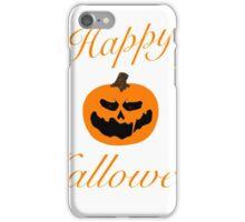 Happy Halloween Jack-O-Lantern iPhone Case/Skin