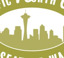 Pacific North West - Seattle GREEN Sticker