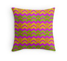 Tropical Pink texture by MrN Throw Pillow