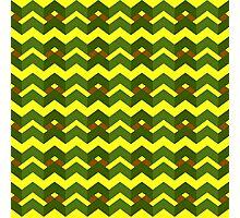 Yellow green alert Photographic Print