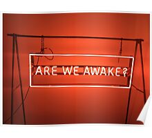 The 1975 Are We Awake Neon Sign Poster