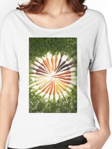 Carrot Color Wheel  Women's Relaxed Fit T-Shirt