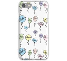 pattern hello in different languages iPhone Case/Skin