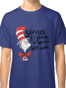 Service by Dr.Suess Classic T-Shirt