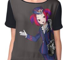 Welcome to the monsterland Chiffon Top