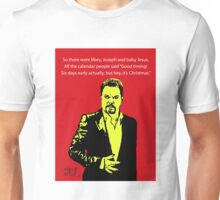 Eddie Izzard Christmas Unisex T-Shirt