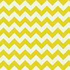 Beautiful bright yellow retro Chevron pattern  by o2creativeNY