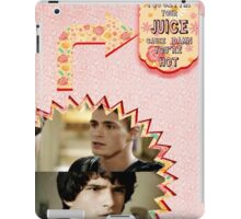 My Teenwolfed Valentine [ Where Do You Get Your Juice] iPad Case/Skin