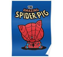 The Amazing Spider-Pig Poster
